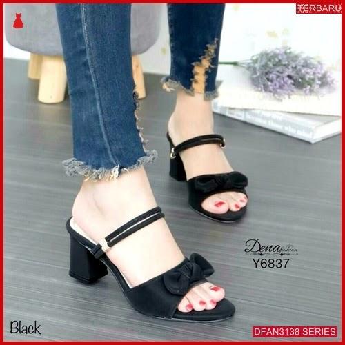 DFAN3138S159 Sepatu Wa24 Hak Tahu Wanita Sol Karet BMGShop