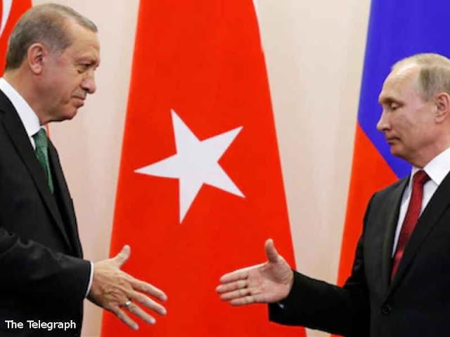 Recep Tayyip Erdogan dan Vladimir Putin Cari Solusi untuk Idlib