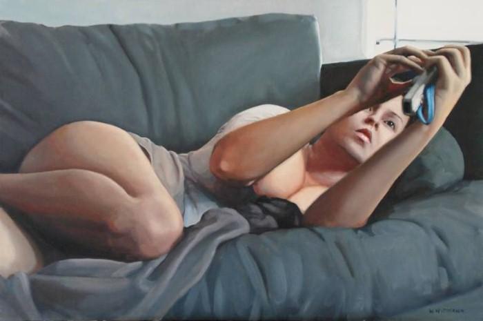 Естественная красота женщины. Wilfred Wittmann