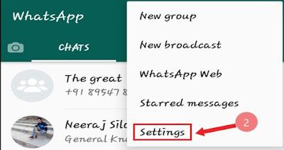 Whats App में Blue Tick को Hide कैंसे करें की जानकारी