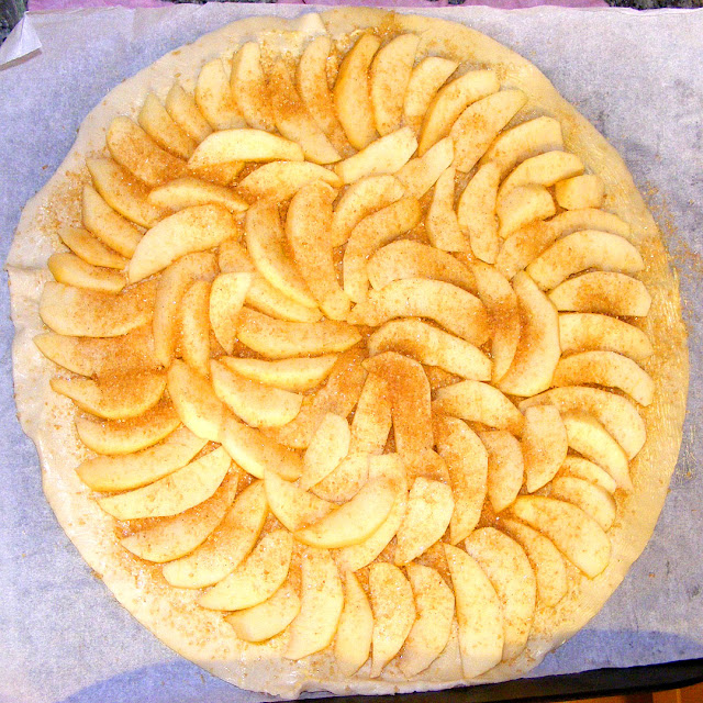Homemade tarte au vigneronne (winemaker tart) ready for the oven. Photo by Loire Valley Time Travel.