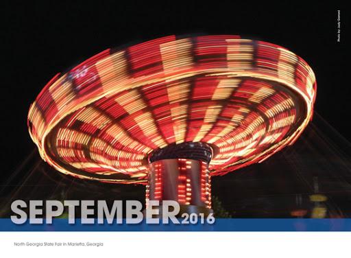 September Coolray Calendar