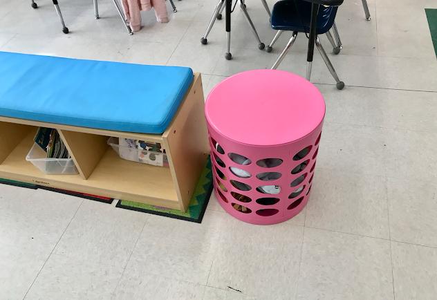 Lakeshore learning shelf