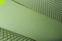 oben und unten: Yogamatte aus natürlichen Gummi (Kautschuk) - »Rubin« 183x61x0,4cm - sehr rutschfeste Matte für Yoga : ideal für Yogalehrer & Yogastudios (Studio-Qualität). Erhältich in 6 Trendfarben : pink hellblau grün lila navyblau & schwarz. Exzellent geeignet für Yogaübungen (Asanas), Pilates & Gymnastik - die perfekte Fitnessmatte / Sportmatte dank innovativer Oberflächenstruktur - ökologisch korrekt hergestellt & REACH geprüft (keine Schadstoffe)