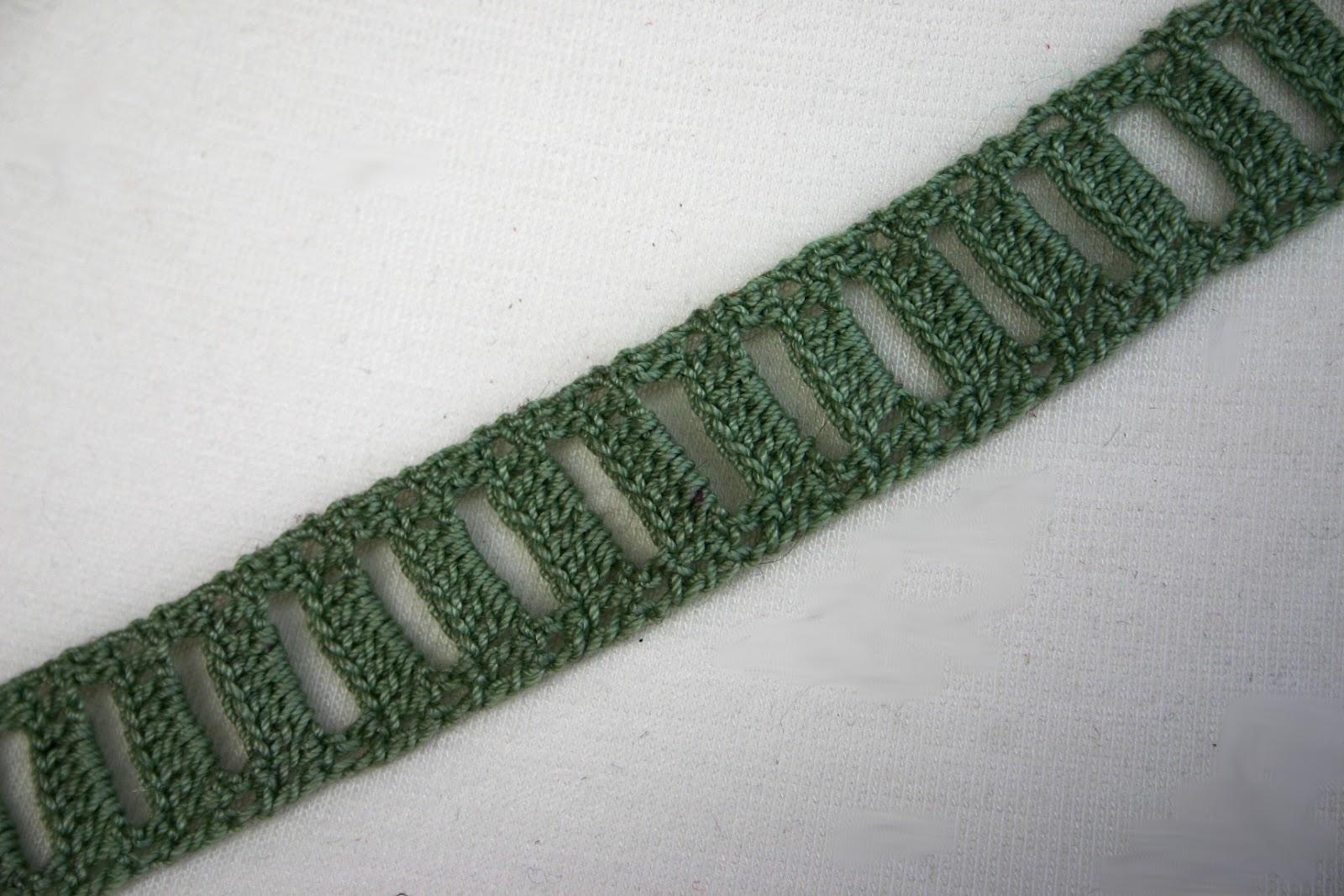 Cherchez La Femme Diy Gehäkeltes Halsband Oder Haarband