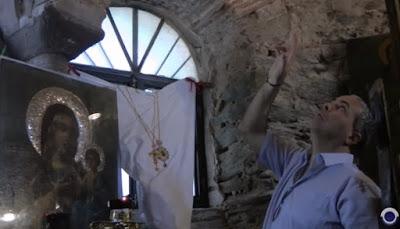 Αποστολή Ν. Λυγερού στην Ιερά Μονή Οσίου Δαυίδ. Θεσ/νίκη 7/5/15