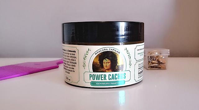 Resenha: Máscara Capilar Vegana Power Cachos Cosmeceuta