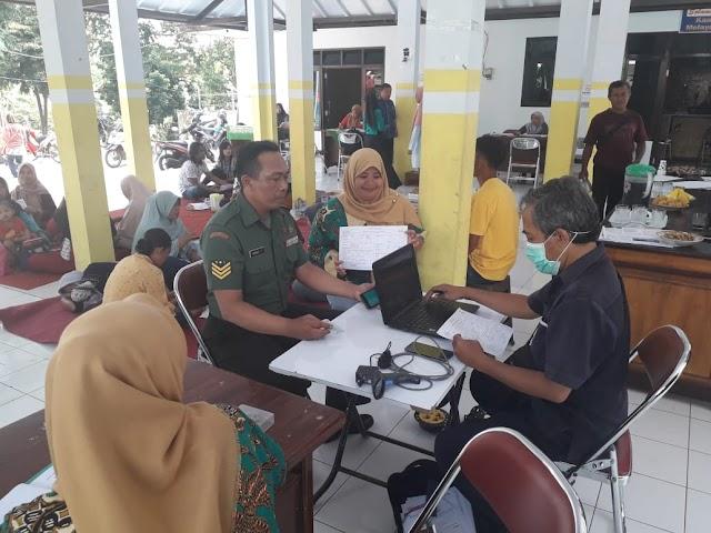Peduli kemanusiaan, TNI Lumajang Donorkan Darahnya untuk Masyarakat