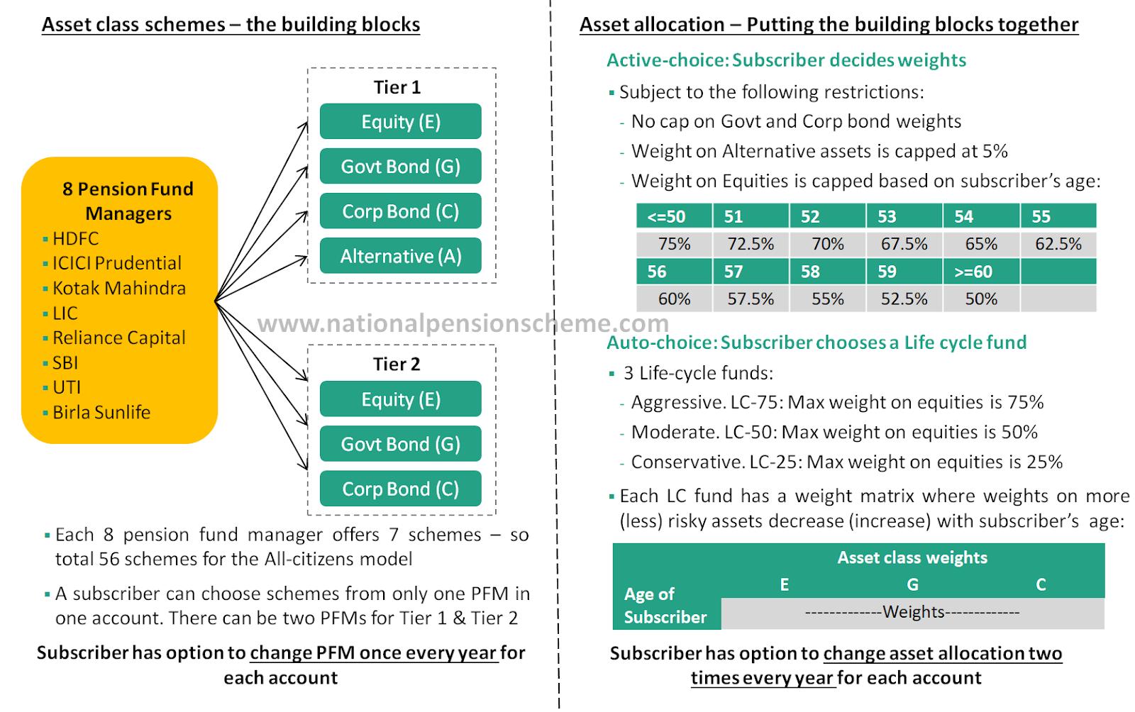 A description of how to build your best NPS investment portfolio