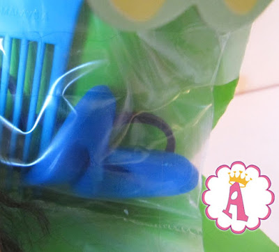 Голубые туфли лодочки для куклы барби