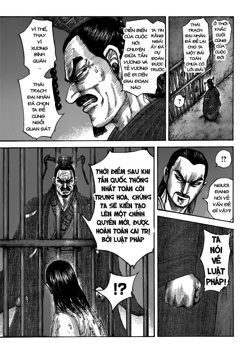 Kingdom chapter 494 trang 11