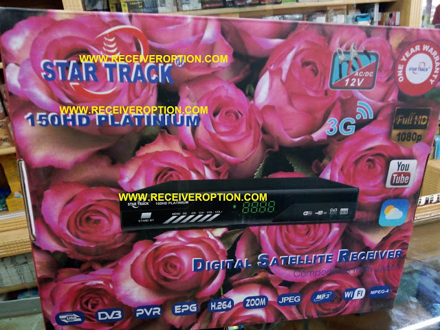 STAR TRACK 150HD PLATINIUM RECEIVER POWERVU KEY NEW SOFTWARE BY USB