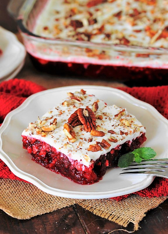7 Up Cranberry Jello Salad The Kitchen Is My Playground