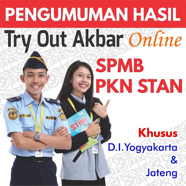Pengumuman Hasil Try Out Online Akbar PKN STAN 2020