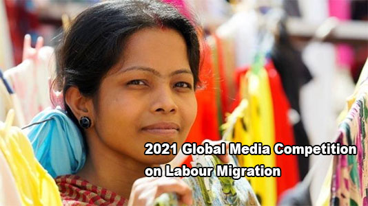2021 Global Media Competition on Labour Migration