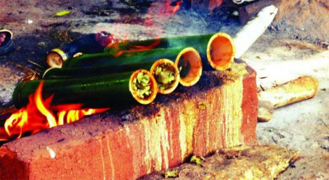 Bamboo Chicken : Taste Of Araku