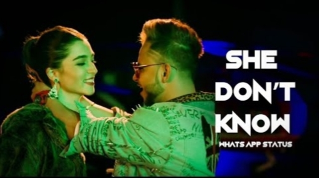 She don't know lyrics - Millind Gaba