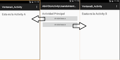 Abrir oto activity usando Intent explicitos en android studio