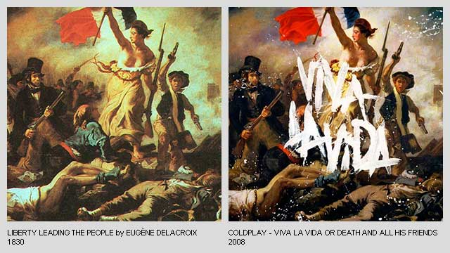 Liberty-Leading-the-People-by-Eugene-Delacroix-Viva-la-Vida-Album-by-Coldplay