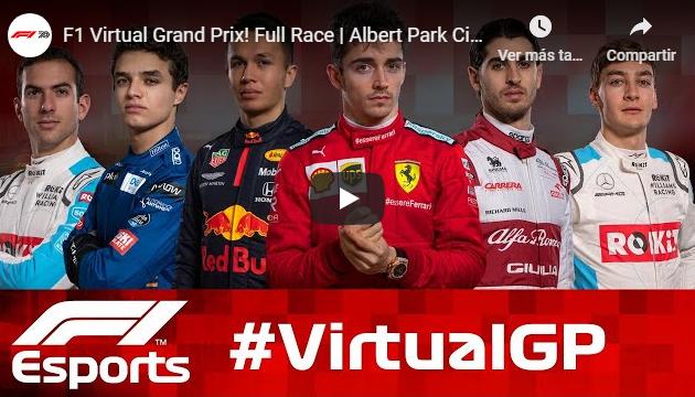 F1 2020: Virtual GP Australia