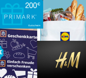 Germany Offers|Primark Gift Card,Decathlon €500 Gift Card,H&M Gift card,LIDL Gift Card,MediaMarkt Gift Card,Aldi Gift Card