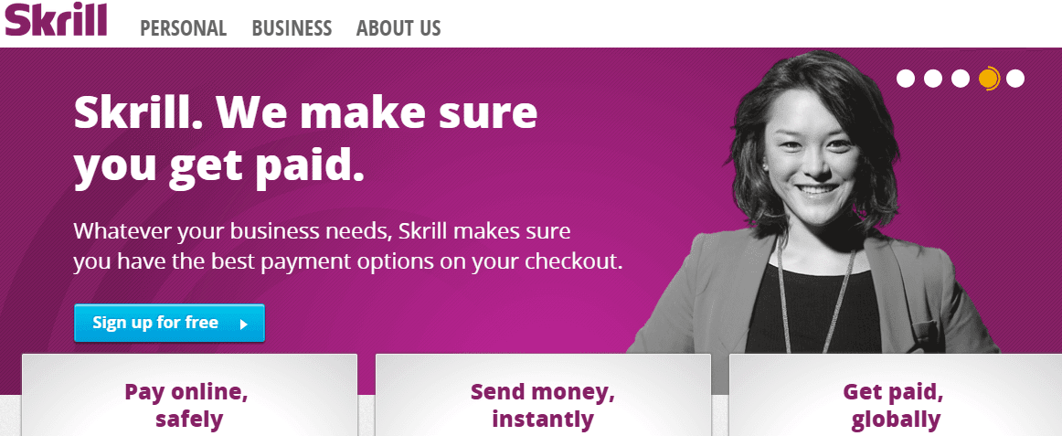Skrill - PayPal Alternative