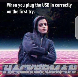 Plugging USB Meme