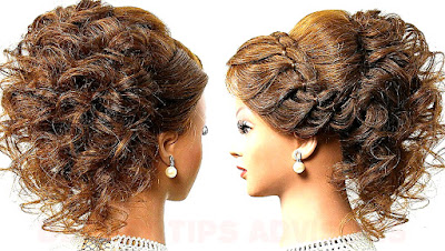 Hairstyles for Wedding or Prom