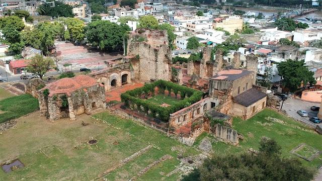 monasterio de san francisco  zona colonial santo domingo dominican republic
