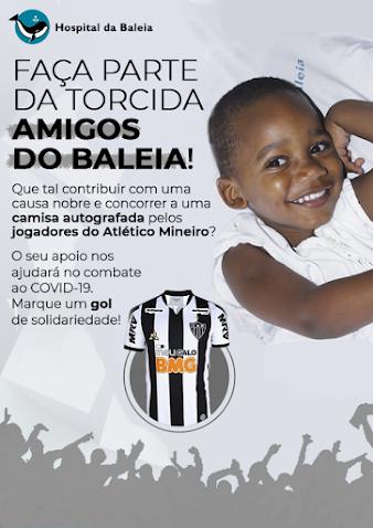 Doe e concorra a uma camisa autografada pelos jogadores do Atlético MG.