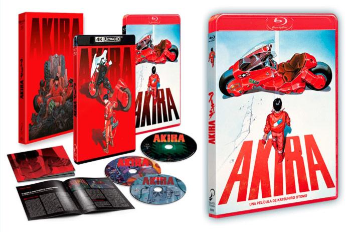 Akira 4K anime film - Selecta Visión