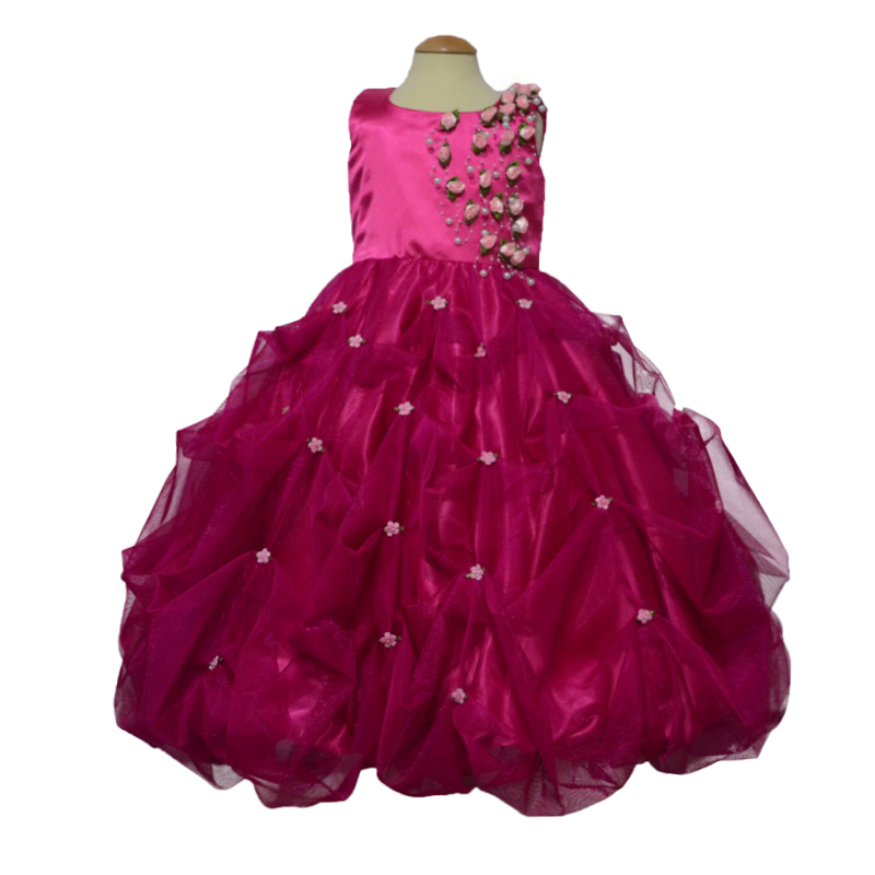 kids dresses with pearls