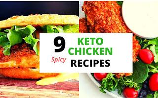 Low Carb Keto Spicy Chicken Recipes