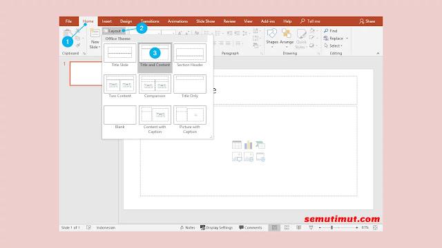 Cara Menyisipkan Gambar di Slide Presentasi PowerPoint