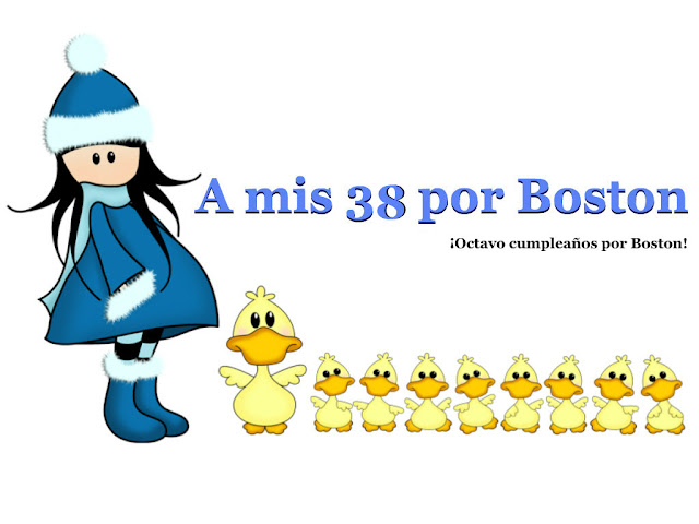 A mis 38 por Boston