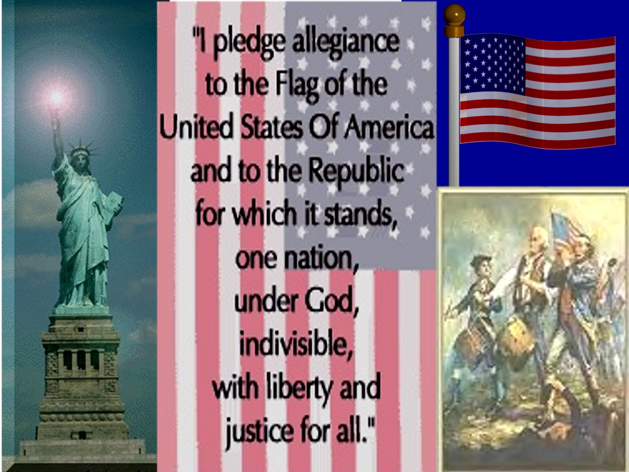 how to lead the pledge of allegiance