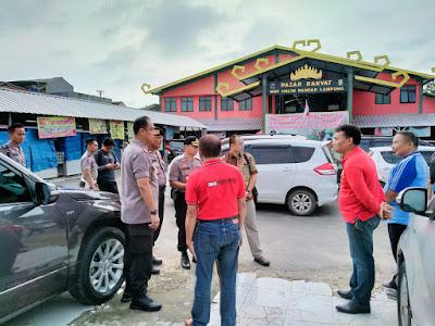 Kapolresta Pastikan Tidak Ada Kelangkaan Sembako di Kota Bandar Lampung