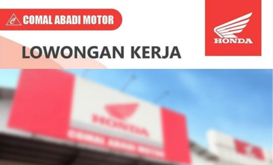 Lowongan Kerja Desain Grafis di Dealer Honda Comal Abadi Motor