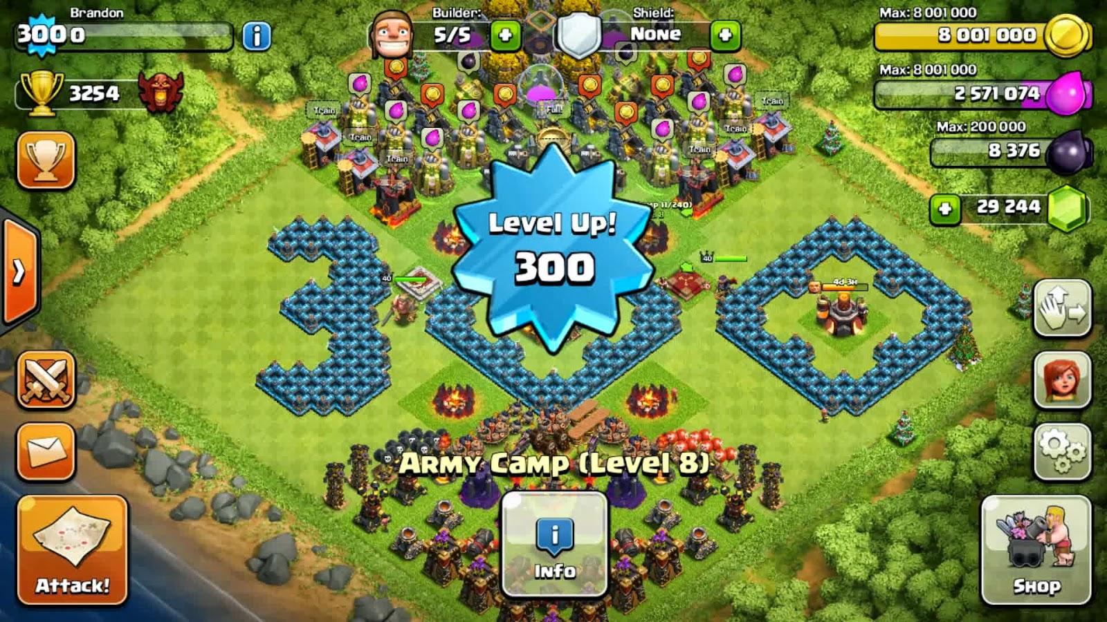 Cara Mudah Menaikkan Level Clash Of Clans Dengan Cepat Clash Of