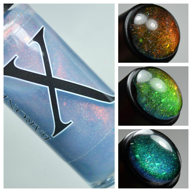 unicorn pee shimmer nail polish topper