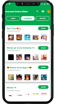 como hacer un sticker animado para WhatsApp fácil