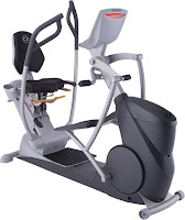 Octane Fitness xR6x Recumbent Elliptical Machine Trainer, with Power Stroke technology, 20 resistance levels, 6 programs & 3 workout boosters for HIIT training