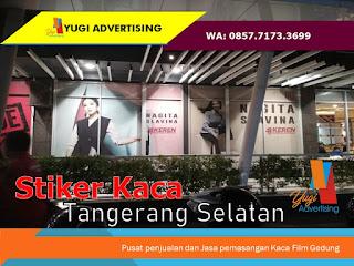 Stiker Kaca Tangerang Selatan