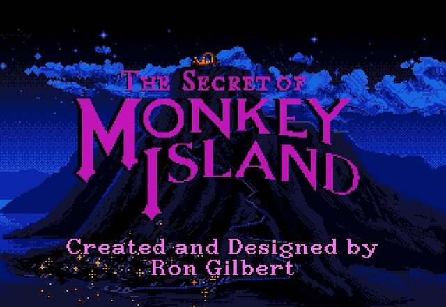 Intro The Secret of Monkey Island