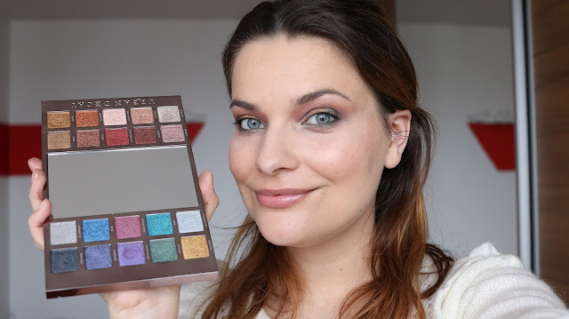 Palette Heavy Metal d'Urban Decay et make-up festif