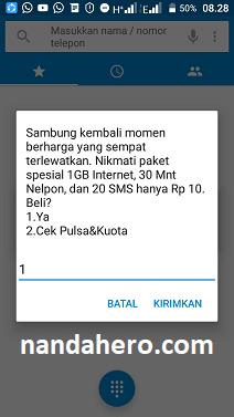 Paket Promo Telkomsel Rp10 Terbaru Agustus 2019