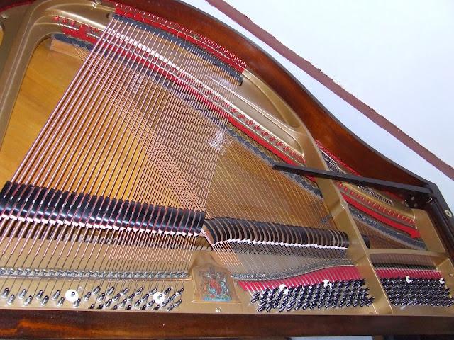 restrung piano