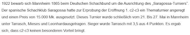 Notas sobre el Torneo de Mannheim-1922