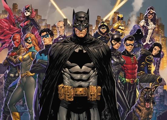 Todos los miembros de la BatFamilia