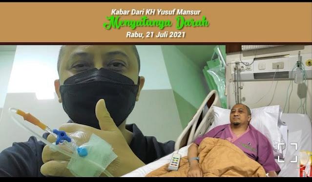 Mohon Doanya, Yusuf Mansur Dilarikan ke Rumah Sakit